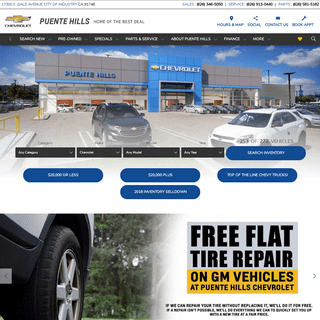 Your New and Used Chevy Dealer - Puente Hills Chevrolet