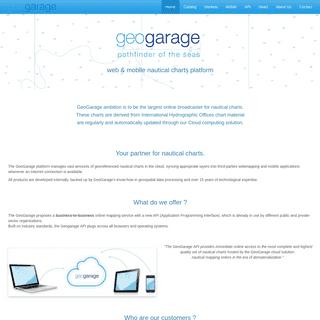 Homepage - GeoGarage