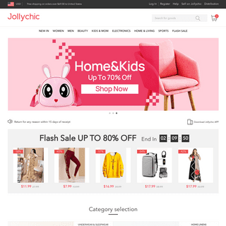 Jollychic - Chic Online Shopping for Refined Clothes & Lifestyle, Cash on Delivery Shopping!