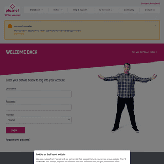 ArchiveBay.com - force9.co.uk - Login - Member Centre - Plusnet