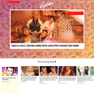 Galore - Galore is Fashion, Beauty, Pop and Politics for today's creative women. Join the Girl Cult.