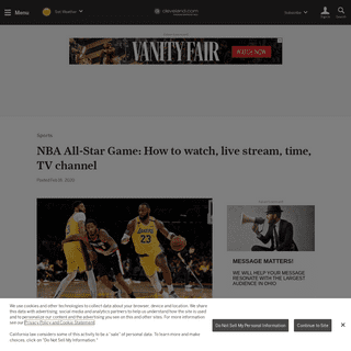 ArchiveBay.com - www.cleveland.com/sports/2020/02/nba-all-star-game-how-to-watch-live-stream-time-tv-channel.html - NBA All-Star Game- How to watch, live stream, time, TV channel - cleveland.com