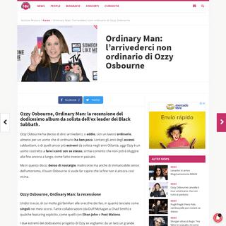 ArchiveBay.com - notiziemusica.it/ozzy-osbourne-ordinary-man-recensione/news/ - Ordinary Man- la recensione del nuovo album di Ozzy Osbourne