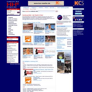 Hamburg Web - Stadtführer, Events und Magazin