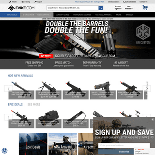 Evike.com - The Ultimate Airsoft Retailer & Distributor - Airsoft Guns, Rifles, Parts & Accessories, Tactical Gear - Airsoft Sup