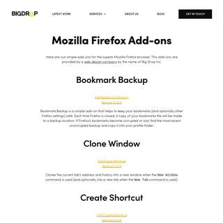 Mozilla Firefox Responsive Add-ons - Usefull Web Design Tools