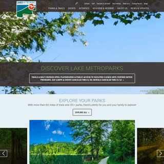 Lake County Ohio Parks - Lake Metroparks - Lake Metroparks