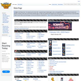 Digimon Masters Online Wiki - DMO Wiki