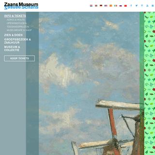 Praktische informatie en online tickets - Zaans Museum in Zaandam