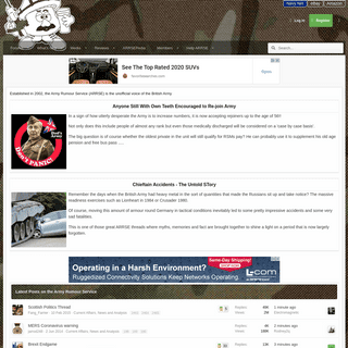 Home Page - Army Rumour Service