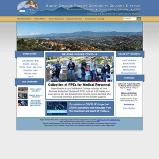 SOCCCD - South Orange County Community College District