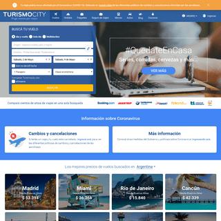 Vuelos Baratos, Ofertas y Promociones Aéreas - Turismocity