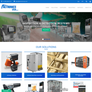 Factronics USA - Packaging & Industrial Solutions - Factronics USA - Factronics USA