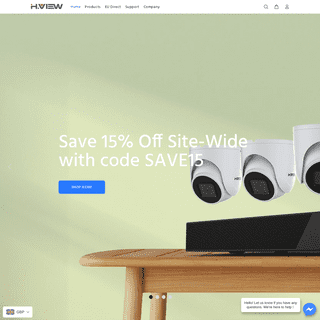 Security Cameras and Video Surveillance Systems – HVIEW Home Security Camera