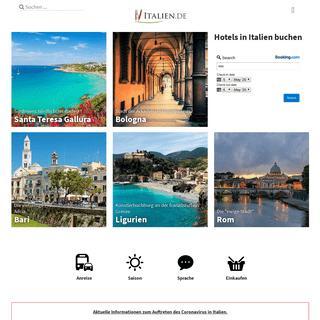 Italien.de – Urlaub, Hotels und Sehenswürdigkeiten – italien.de