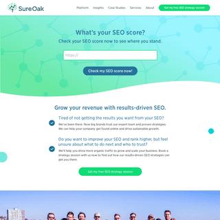 ArchiveBay.com - sureoak.com - SEO Strategy, Consulting & Link Building Services from Sure Oak