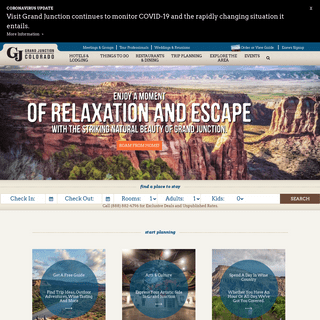 Visit Grand Junction, Colorado - Official Travel and Tourism Resource