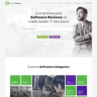 SoftwareReviews - Make Better IT Decisions