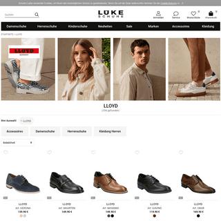 LLOYD im Schuhe Lüke Online-Shop kaufen