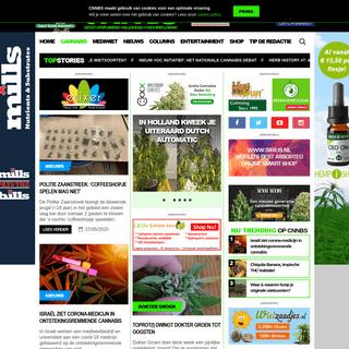 CNNBS.nl - Het eerste en leukste online cannabis nieuws en lifestyle magazine van Nederland. Alles wat je altijd al wilde weten