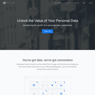 Datacoup - Reclaim your personal data