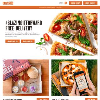 Blaze Pizza - Fast-Fire'd Custom Built Artisanal Pizzas