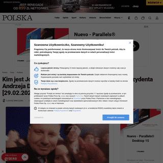 Kim jest Jolka Rosiek, która straciła głowę dla prezydenta Andrzeja Dudy- -Nie nazywajcie mnie stalkerką- [29.02.2020] - Po