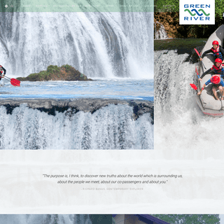Una Rafting - Green River Rafting