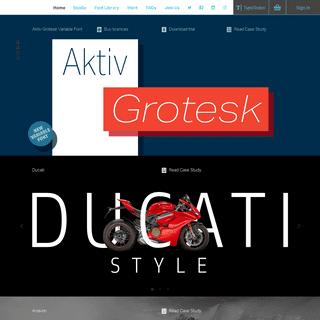 Dalton Maag - International typeface designers