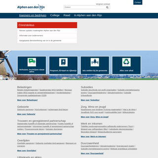 Inwoners en bedrijven - Gemeente Alphen aan den Rijn