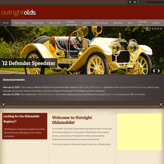ArchiveBay.com - outrightolds.com - 107 Years of Oldsmobile - - Outright Olds