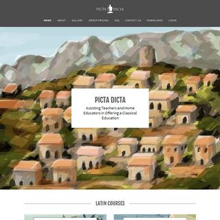 ArchiveBay.com - pictadicta.com - Picta Dicta - Latin Vocabulary, Classical Education
