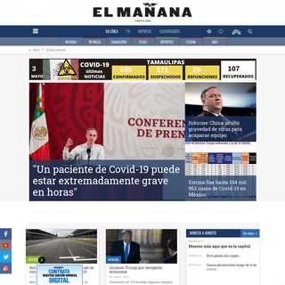 Últimas Noticias - El Mañana de Reynosa