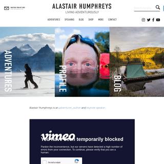 Home - Alastair Humphreys
