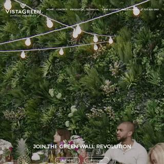 No1 Green Walls, Artificial Vertical Garden Privacy Screens VistaGreen