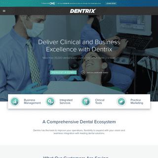 Dental Software - Dental Practice Management Software - Dentrix
