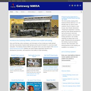 Model Trains and Model Railroads - Gateway NMRA - St. Louis Gateway to Model Railroading Fun