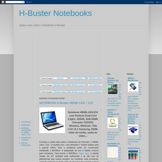 H-Buster Notebooks