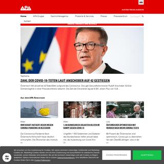 APA – Austria Presse Agentur- Startseite