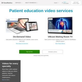 ViewMedica Patient Education Videos