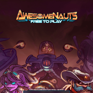 Awesomenauts - The free 2D MOBA, official homepage