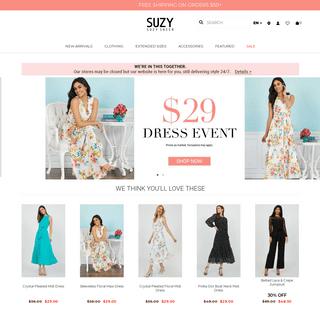 ArchiveBay.com - suzyshier.com - Suzy Shier - Shop Women's Fashion & Latest Clothing Trends
