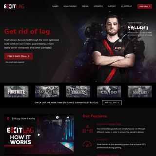 ArchiveBay.com - exitlag.com - ExitLag - Get rid of lag in your game