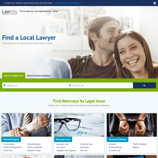 Attorneys and Lawyers Directory - Legal Resources - LawInfo