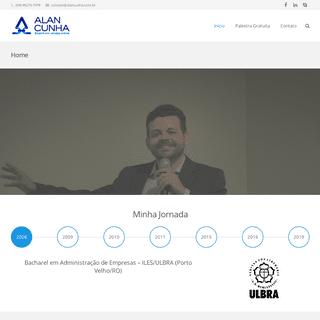Home - Alan Cunha - Consultoria em Marketing Digital - Porto Velho-RO