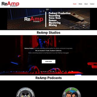 ReAmp Studios - Orange County