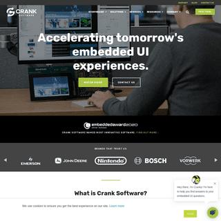 Embedded GUI Design & Development Software - Crank Software