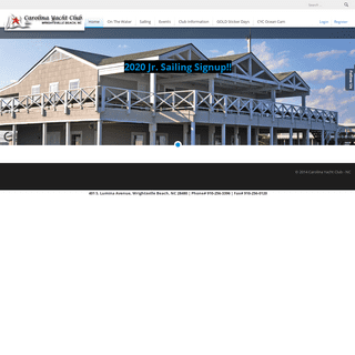 Carolina Yacht Club - Home