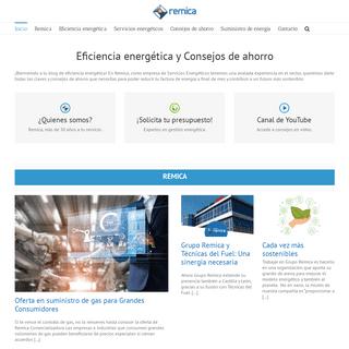 ArchiveBay.com - remicaserviciosenergeticos.es - Blog Oficial de Remica - Eficiencia Energética