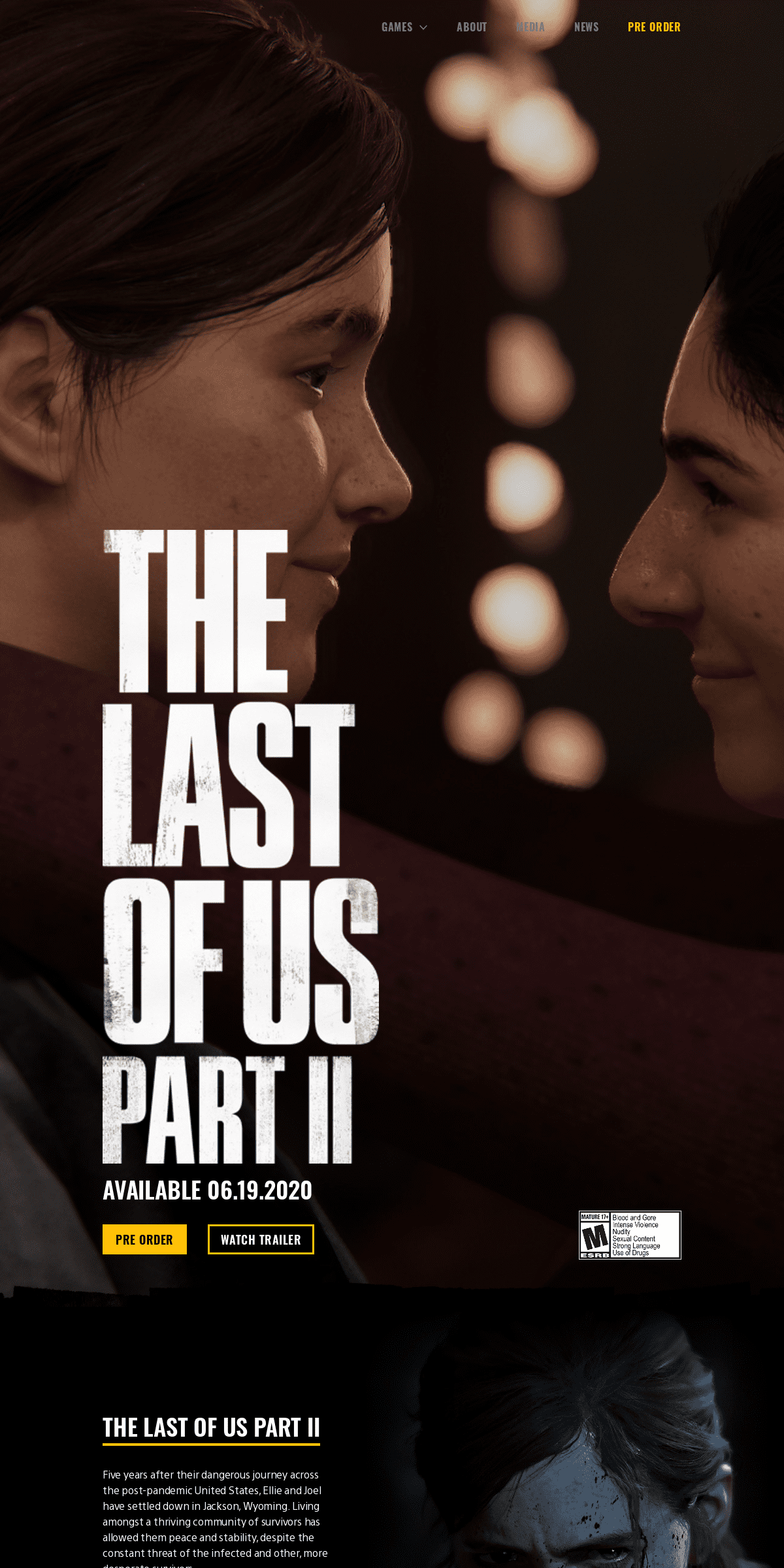 The Last of Us Part II Game - PS4 - PlayStation
